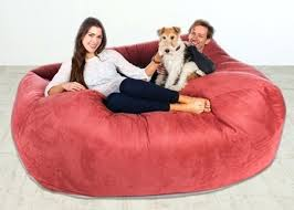 bean bag large bean bag furniture big bean bag lounger giant