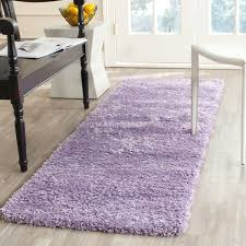 Plush Runner Rugs Plush Pile Lilac Shag Rug California Shags Safavieh
