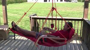 Ez Hang Hammock Chair Deluxe Chair Youtube