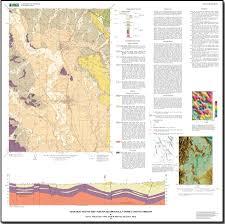 geologic map of the carlton quadrangle yamhill county oregon