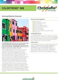 colortrend 888 universal colorants chromaflo