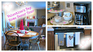 valentine u0027s day decor home tour 2016 youtube