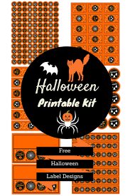 free printable halloween labels water bottle labels onlinelabels com blog