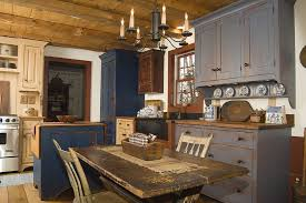 Grey Blue Cabinets Gray Blue Cabinets Kitchen Rustic With Wood Trim Small Island