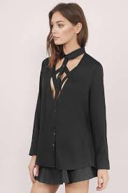 black button up blouse trendy black shirt black shirt button up shirt black top tobi