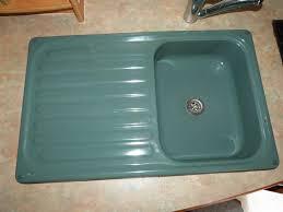 green kitchen sinks green kitchen enamel sink drainer caravan motorhome boats conversion