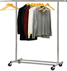 amazon com need a rack collapsible clothing rack commercial grade