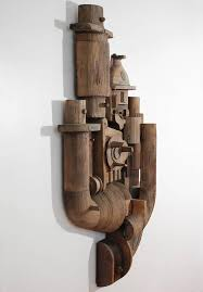 abstract wood wall sculpture relief at 1stdibs