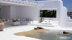 Homes Interior Design Photos by Greek Villa Pool Luxury Youtube