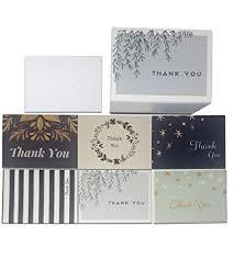 thank you cards bulk 48 thank you cards bulk assortment 6 unique designs
