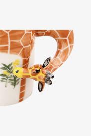 new 3d animal cutie giraffe caffe u0027 latte mug moooh online