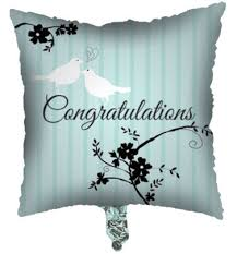 congratulations bridal shower two birds bridal shower collection mylar congratulations balloon