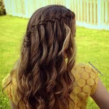Frisuren Lange Haare Wasserfall by 20 Traumhafte Wasserfall Frisuren Nette Lange Frisuren