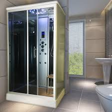 insignia ins9001 1100mm x 890mm steam shower cabin unit enclosure