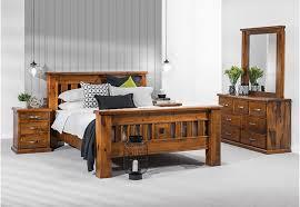 king size bedroom suites sets amart furniture settler 4 piece king dresser suite