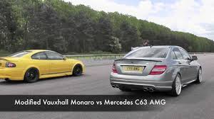 vauxhall monaro vxr modified vauxhall monaro vs mercedes c63 amg youtube
