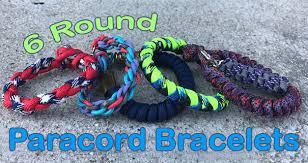 paracord bracelet styles images 6 round paracord bracelets paracord planet jpg