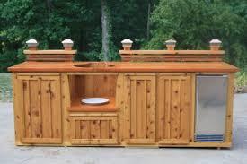 Green Egg Kitchen - handmade custom green egg kitchen by deck kitchen custommade com