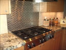 Backsplash Panels For Kitchens Kitchen Glass And Stainless Steel Backsplash Metal Backsplash
