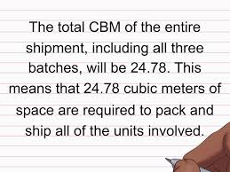 45 Feet To Meters by Easy Ways To Calculate Cbm Wikihow