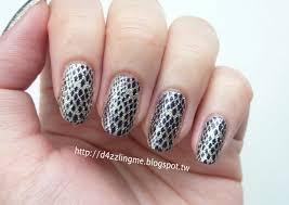 snake skin nails using konad square image plate 08 nail stamping