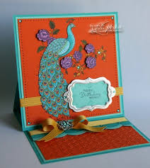 94 best peacock cards images on pinterest peacocks card making