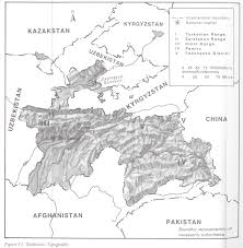 Kyrgyzstan Map Tajikistan Maps Perry Castañeda Map Collection Ut Library Online
