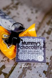 halloween sandwich bags mummy u0027s chocolate gift tag for mom on halloween tips from a