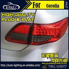 2010 toyota corolla tail light bulb car styling led tail l for toyota corolla tail light 2007 2010