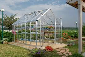 Palram Lean To Greenhouse Poly Tex Snap U0026 Grow 8x12 Silver Greenhouse Hg8012 Free Shipping