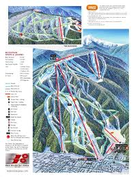 Map Of Colorado Ski Areas by Trail Map Red River Ski Area Cartography Maps U0026 Art From Maps