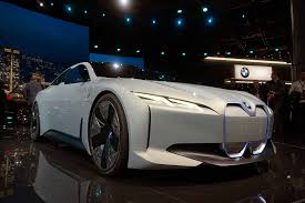 concept bmw bmw i vision dynamics concept debuts as a future tesla competitor