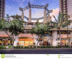 Waikiki Trolley Map Iconic Prada Store Editorial Photography Image 41011067