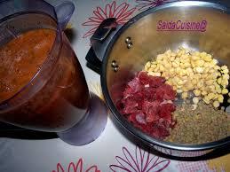 recette cuisine marocaine facile harira soupe marocaine du ramadan saïda foodies