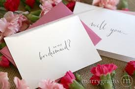 cards to ask bridesmaids will you be my bridesmaid cards of honor matron