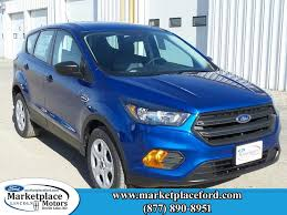 Ford Escape Blue - ford escape in devils lake nd marketplace motors inc