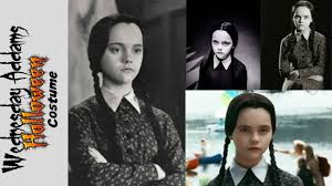 The Addams Family Halloween Costumes by Diy Wednesday Addams Halloween Costume Youtube