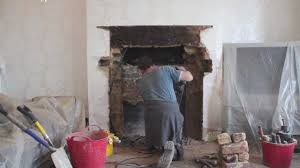 how to install a limestone fireplace mantel contura 51l wood burning stove you
