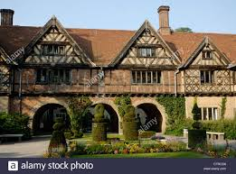 english tudor english tudor style brick and oak timberframe building of schloss