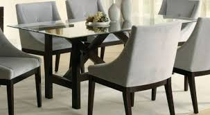 Dining Room Chair Seat Protectors Dining Table Clear Dining Table And Chairs Montana Black Chrome
