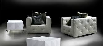 Diamond Tufted Sofa White Leather Tufted Chair W Artificial Diamonds