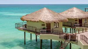 palafitos overwater bungalows mexico youtube