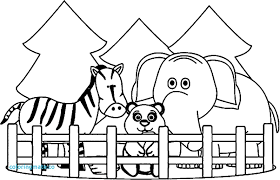 zoo coloring pages preschool zoo coloring pages sharry me