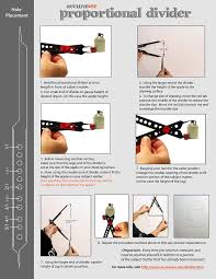 amazon com accurasee artist proportional scale divider drawing tool
