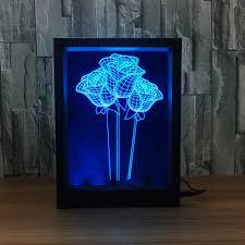 led light photo frame promotion shop for promotional led light