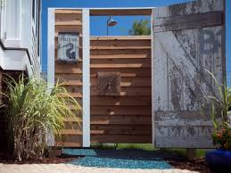 Outdoor Shower Cubicle - diy shower projects u0026 ideas diy