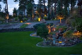 Design Landscape Lighting - outdoor landscape lighting design u0026 installation in spokane