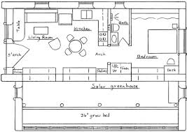 vault and greenhouse plan