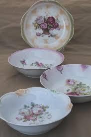 antique china pattern pattern vintage china serving bowls roses floral antique