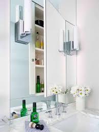 furniture fantastic glass mirror cabinet for bathroom furniture